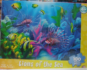 Lions Of The Sea 100